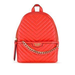 VS Studded V-Quilt Small City Backpack